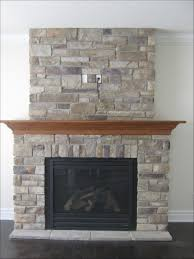 Stacked Stone Outdoor Fireplace - interiors marvelous painting stone fireplace stone veneer