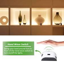 z wave under cabinet lighting under cabinet led light kit 3m 10ft 1500lm hand wave activated