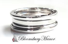 bvlgari vintage rings images Bulgari bvlgari b zero1 3 band white gold ring size 56 uk o jpg