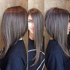 hairstyles lond front short back with bangs short hairstyles long hair in the front short in the back