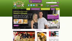 on the go cooking show my food brand website design and