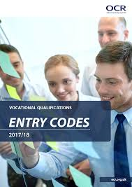What Is Core Qualifications Entry Codes And Admin Guides Ocr