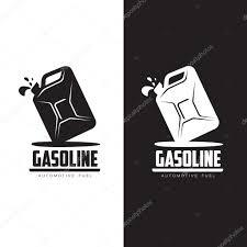 car logo black and white logo for gasoline canisters u2014 stock vector sabelskaya 114839960