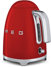 Red Kettle And Toaster Smeg 50 U0027s Style Retro Electric Cordless Kettle Stainless Steel