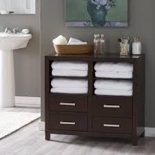nice design bathroom floor shelf imposing cabinet white with