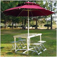 aluminum portable picnic table table outdoor folding table and chair set aluminum portable picnic