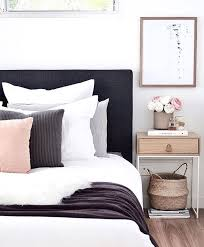 Black And White And Pink Bedroom Ideas - best 25 black headboard ideas on pinterest floating headboard
