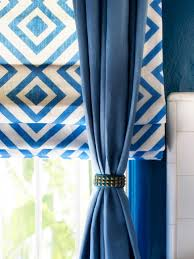 How To Hang A Valance Scarf by Bay Window Treatment Ideas Hgtv