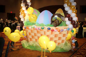 Balloon Decorations For Easter by Party Concierge Hosting A Charming Easter Celebration The Party