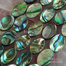 shell pearl necklace wholesale images Charming mother of pearl abalone shell loose beads for necklaces jpg