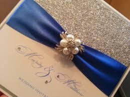 royal blue ribbon blue ribbon wedding invitations picture ideas references