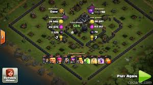 scary pumpkin coc crows edge obstacle spawning layout for th9 10 clash of clans land