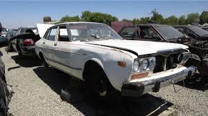 nissan datsun 1978 junkyard treasure 1978 datsun 810 sedan autoweek