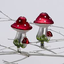 ksa pack of 24 enchanted garden glass clip on