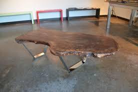 wood slab coffee table diy diy wood slab table nisartmacka com