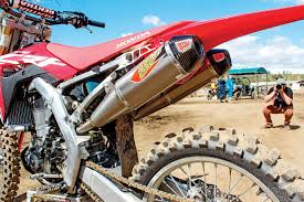 motocross action magazine mxa log book secrets of the 2017 honda