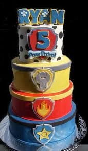 148 paw patrol birthday cakes ideas images