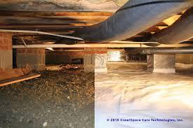data on enclosed crawlspaces