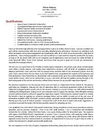 Underwriter Resume Sample Insurance Underwriter Resume Sample Latest Resume