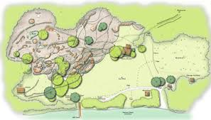 Rock Gardens Green Bay by Voyageurs Maps Npmaps Com Just Free Maps Period