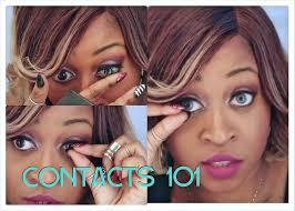 how to put on and take off contact lenses for beginners step by