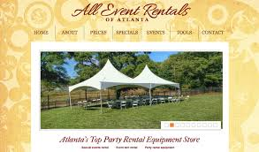 party rentals atlanta rent all plaza atlanta tool rental