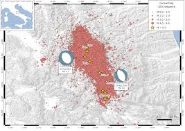 Map Of Central Italy by Deploying And Servicing A Seismic Network In Central Italy