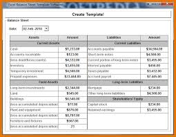 Sheets Template Excel 8 Excel Balance Sheet Template Itinerary Template Sle