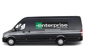 volkswagen van side van hire van rental from enterprise rent a car