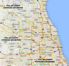 Illinois Zip Codes Map by Home Page