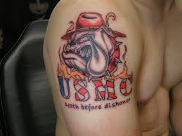 own ega tattoo design marine corps tattoos tattoomagz