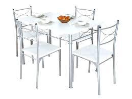 table chaises cuisine table de cuisine blanche incyber co