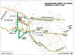 Dlf New Town Heights Sector 90 Floor Plan Overview Dlf New Town Heights Plots At Sector 91 92 Gurgaon