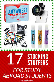 stocking stuffers for adults 17 stocking stuffer ideas for students studying abroad the