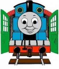 blue and yellow thomas train clipart of thomas 1 free clipart