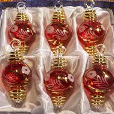 beautiful set of 24 karat gold decorated glass
