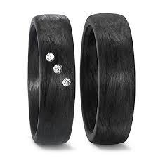 schumann design by schumann design trauringe eheringe aus carbon schwarz mit