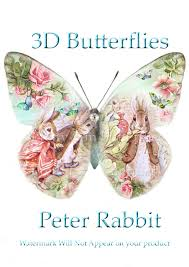 12 beatrix potter wall decals wing span wall decor beatrix peter rabbit 3d butterflies beatrix potter wall decal buterfly