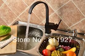 Stainless Steel Sink With Bronze Faucet 10 Years Guarantee Ce Approved New Style Single Level Black Color