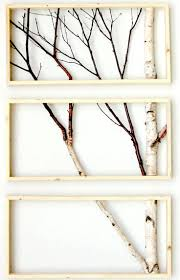 framed birch art totally going to do this with my old vintage