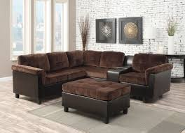 cloth reclining sofa living room modern sectional sofas with recliners for excellent
