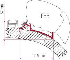 Fiamma Awning Parts Fiamma F65 Awning Adapter Kit Carthago Chic Awning Adaptors