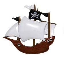 ornament pirate ship ornament