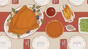 10 great thanksgiving menu songs rolling