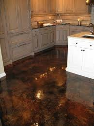 Stain Colors For Kitchen Cabinets by Wood Kitchen Cabinets U0026 Stained Concrete Floors Acid Stained