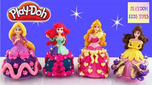 Ariel Clothes For Toddlers Playdoh Disney Princess Dresses Ariel Aurora Belle Rapunzel Dress