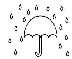 raindrop template umbrella template for preschool sample umbrella