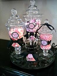 Pink And Black Candy Buffet by 378 Best Party Ideas Images On Pinterest Hello Kitty Parties