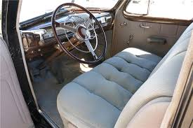 Buick Roadmaster Interior 1939 Buick Roadmaster Series 80 Touring Sedan 185875