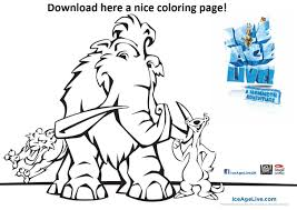 ice age peaches coloring pages contegri com
